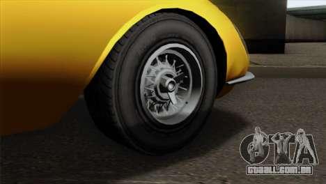 GTA 5 Grotti Stinger v2 para GTA San Andreas traseira esquerda vista