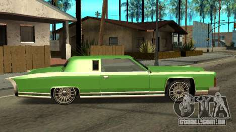 Beta Remington para GTA San Andreas traseira esquerda vista