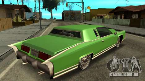 Beta Remington para GTA San Andreas esquerda vista