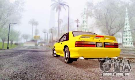 DirectX Test 3 - ReMastered para GTA San Andreas quinto tela