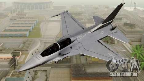 F-16D Fighting Falcon para GTA San Andreas