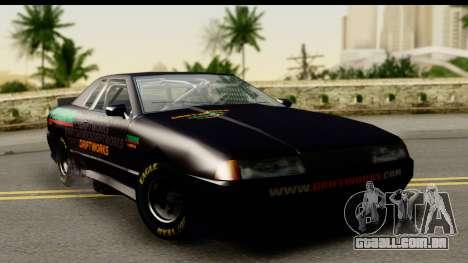 Elegy NASCAR PJ para GTA San Andreas vista traseira