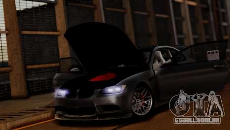BMW M3 E92 GTS 2012 v2.0 Final para GTA San Andreas interior