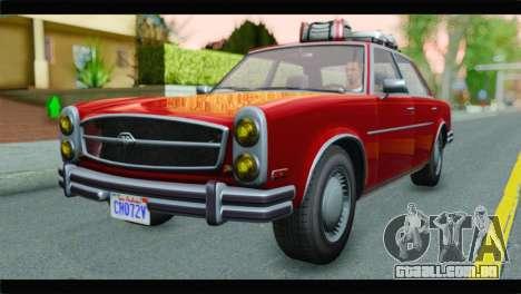 GTA 5 Benefactor Glendale para GTA San Andreas