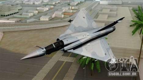 Dassault Mirage 2000 Forca Aerea Brasileira para GTA San Andreas