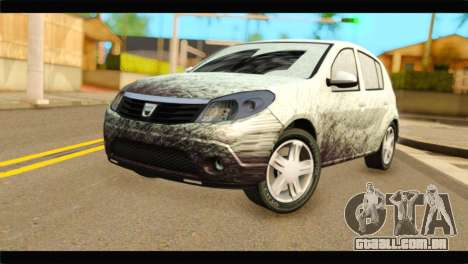 Dacia Sandero Dirty Version para GTA San Andreas