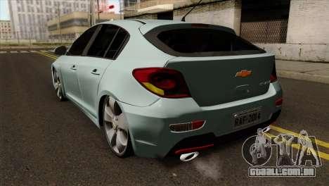 Chevrolet Cruze Hatchback para GTA San Andreas esquerda vista