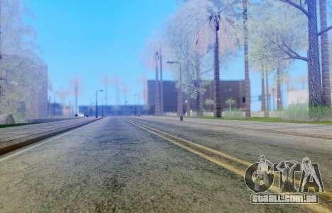 DirectX Test 3 - ReMastered para GTA San Andreas segunda tela