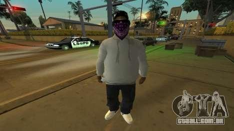 Ballas Skin Pack para GTA San Andreas terceira tela