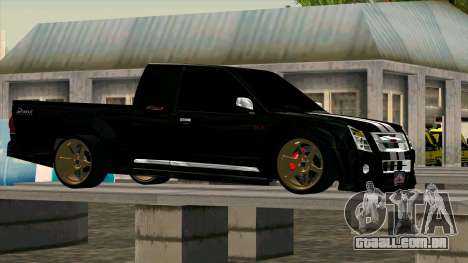 Isuzu D-Max X-Series para GTA San Andreas esquerda vista