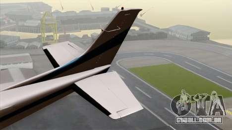 GTA 5 Mammatus para GTA San Andreas traseira esquerda vista