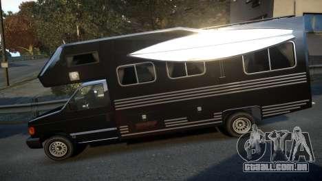 GTA IV Steed Camper para GTA 4 esquerda vista