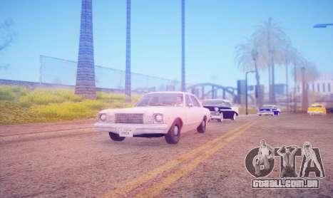DirectX Test 2 - ReMastered para GTA San Andreas segunda tela