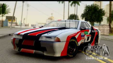 Elegy NASCAR PJ 2 para GTA San Andreas vista direita