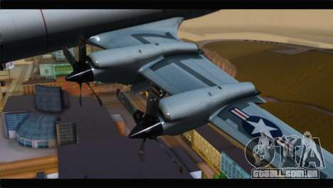 Lockheed P-3C Orion US Navy VP-24 para GTA San Andreas vista direita