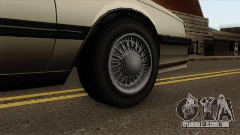 GTA 4 Willard II para GTA San Andreas traseira esquerda vista
