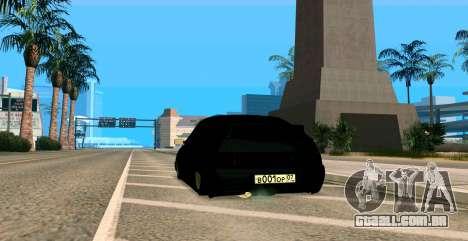 USANDO 2112 BUNKER para GTA San Andreas vista interior