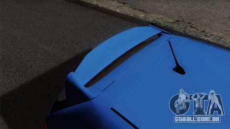 Honda Civic Type R EP3 para GTA San Andreas vista traseira