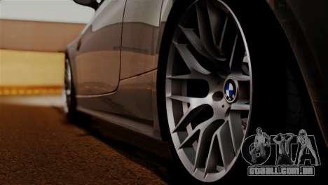 BMW M3 E92 GTS 2012 v2.0 Final para GTA San Andreas vista superior
