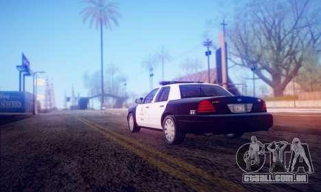 DirectX Test 2 - ReMastered para GTA San Andreas terceira tela
