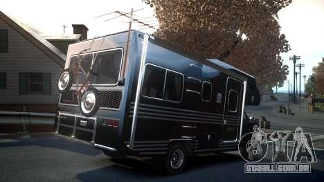 GTA IV Steed Camper para GTA 4 vista de volta