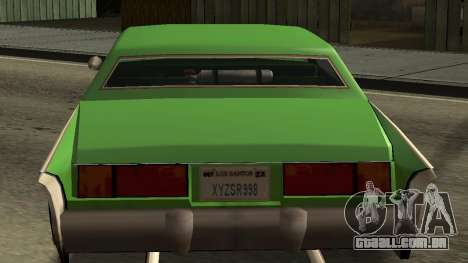 Beta Remington para GTA San Andreas vista interior