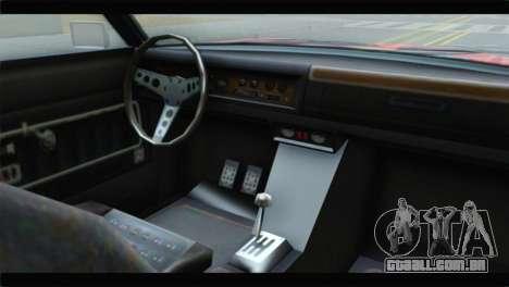 GTA 5 Benefactor Glendale para GTA San Andreas vista direita