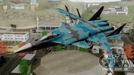 SU-47 Berkut Winter Camo para GTA San Andreas