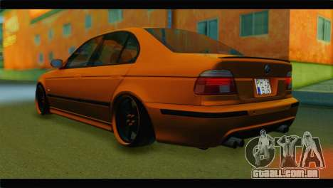 BMW M5 E39 Simply Cleaned para GTA San Andreas esquerda vista