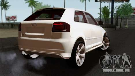 Audi S3 2011 para GTA San Andreas esquerda vista