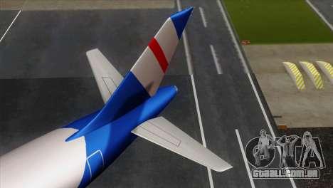 GTA 5 Air Herler para GTA San Andreas traseira esquerda vista
