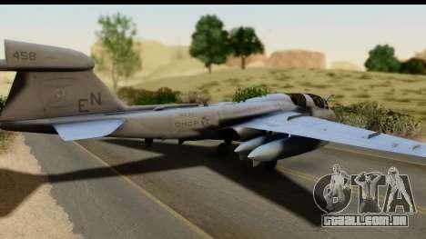 Northrop Grumman EA-6B VAQ-194 Skyshields para GTA San Andreas esquerda vista