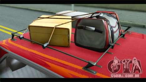 GTA 5 Benefactor Glendale para GTA San Andreas vista traseira