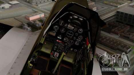 P-51D Mustang Da Quake para GTA San Andreas vista direita