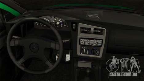 Opel Astra G 1999 Police para GTA San Andreas traseira esquerda vista