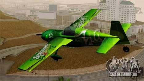 GTA 5 Stuntplane Spunck para GTA San Andreas esquerda vista