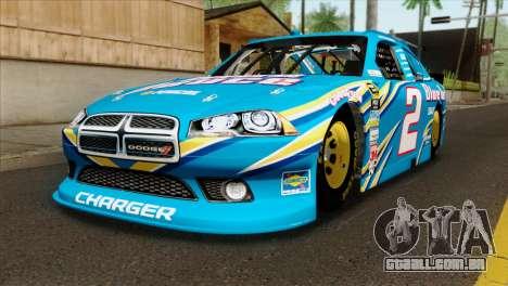 NASCAR Dodge Charger 2012 Plate Track para GTA San Andreas
