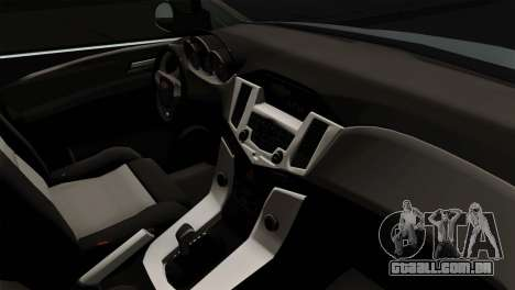 Chevrolet Cruze Hatchback para GTA San Andreas traseira esquerda vista