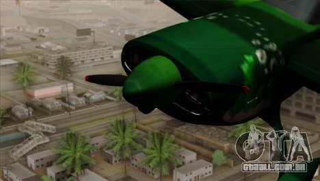 GTA 5 Stuntplane Spunck para GTA San Andreas vista direita