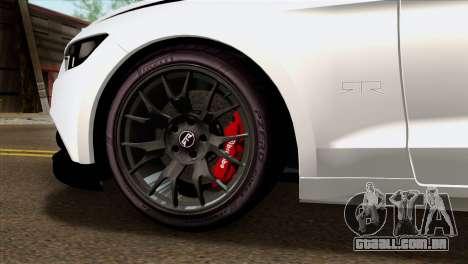 Ford Mustang RTR Spec 2 2015 para GTA San Andreas traseira esquerda vista