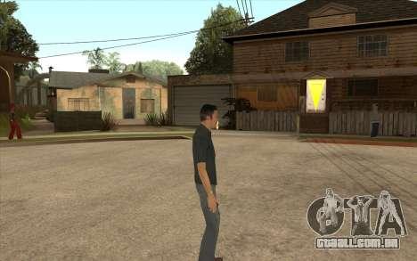 John Tanner DRIV3R para GTA San Andreas terceira tela