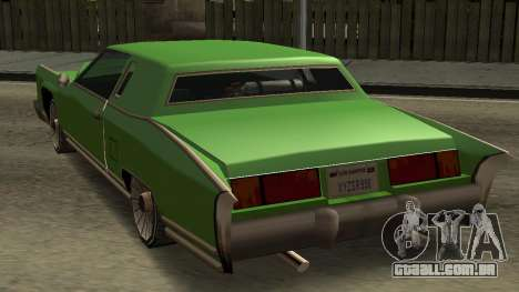 Beta Remington para GTA San Andreas vista traseira