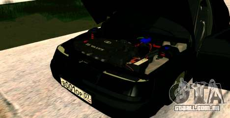 USANDO 2112 BUNKER para GTA San Andreas vista direita