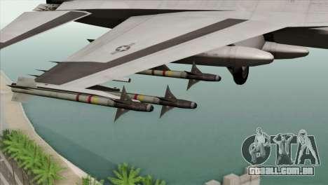 F-16C Fighting Falcon Wind Sword Squadron para GTA San Andreas vista direita