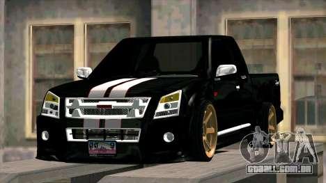 Isuzu D-Max X-Series para GTA San Andreas