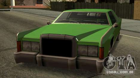 Beta Remington para GTA San Andreas vista direita