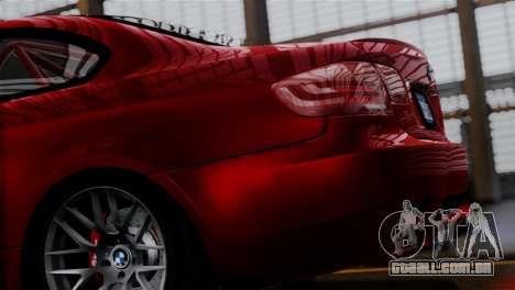BMW M3 E92 GTS 2012 v2.0 Final para GTA San Andreas esquerda vista