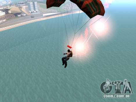 O Pára-Quedas Flare para GTA San Andreas por diante tela