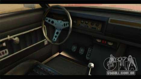GTA 5 Benefactor Glendale IVF para GTA San Andreas vista direita