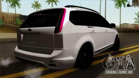 Ford Focus Wagon para GTA San Andreas esquerda vista